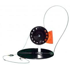 Жерлица зимняя Manko оснащенная на диске 180 мм (катушка 90 мм)