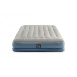 Надувная кровать Intex Mid-Rice 203 х 152 х 30 см со встроенным насосом 220В (64118)