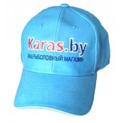 Бейсболка с логотипом Karas.by (голубая)