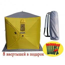 Палатка зимняя Куб 3+ (180х180х200см)