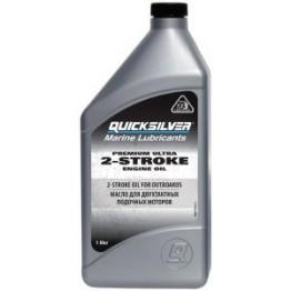 Моторное масло Quicksilver Premium Ultra 2-Stroke Engine TC-W3 (1 л)