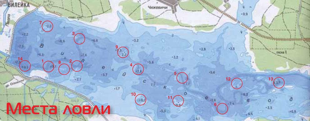 Рыболовные карты