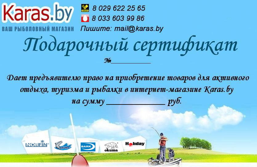 fdddbda3d3d6 Подарочные сертификаты купить в Минске, интернет-магазин karas.by
